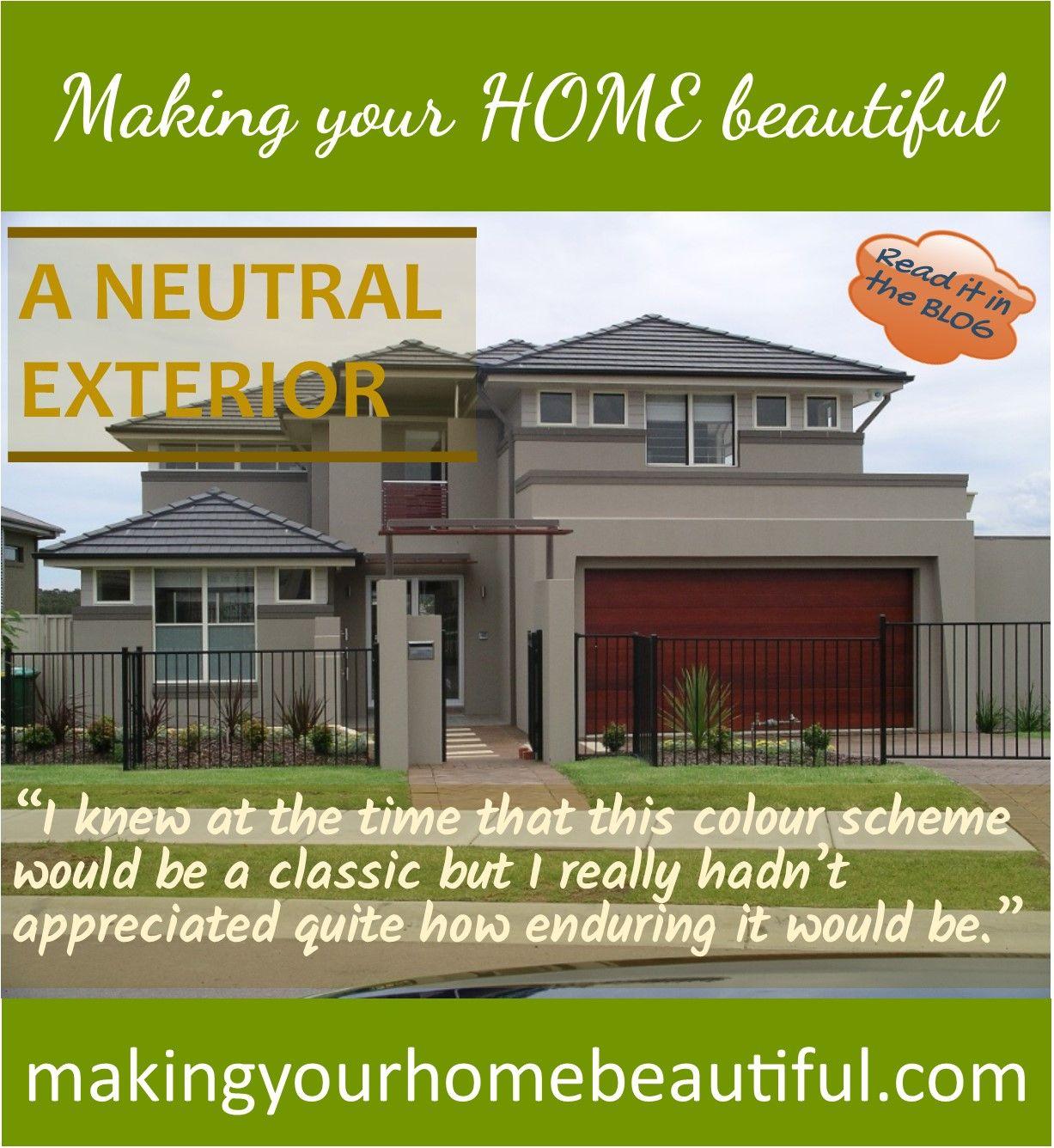 Neutral Exterior Paint Color Schemes: How To Achieve A Classic Neutral Exterior