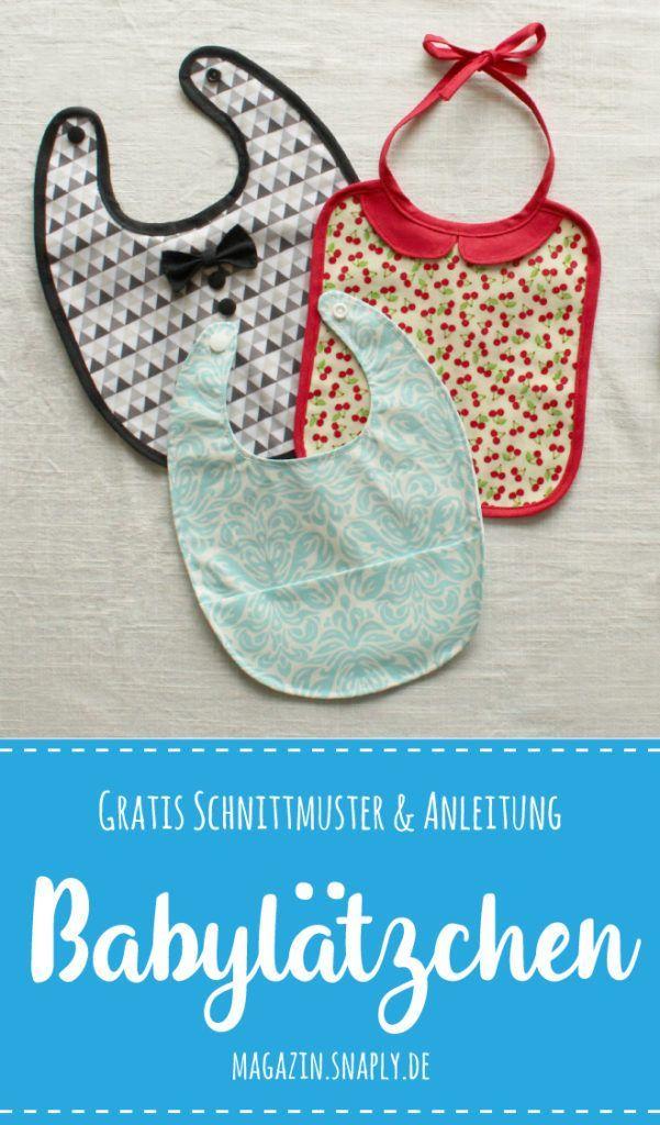Photo of Kostenloses Schnittmuster: Süße Babylätzchen in drei Varianten | Snaply-Magazin