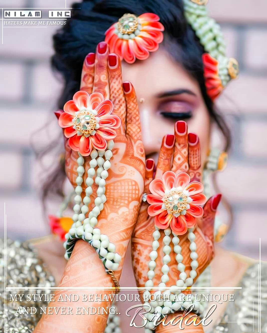 L(*OεV*)E Bridal fashion jewelry, Flower jewellery for