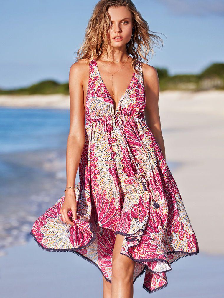 43042b1df5 Twist-back Cover-up Dress - Very Sexy - Victoria s Secret