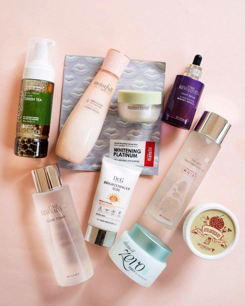 Most Popular Korean Skin Care Brands One Korean Skincare In Japan Since Korean Skincare Combination Oily Skin Korean Skincare Routine Korean 10 Step Skin Care