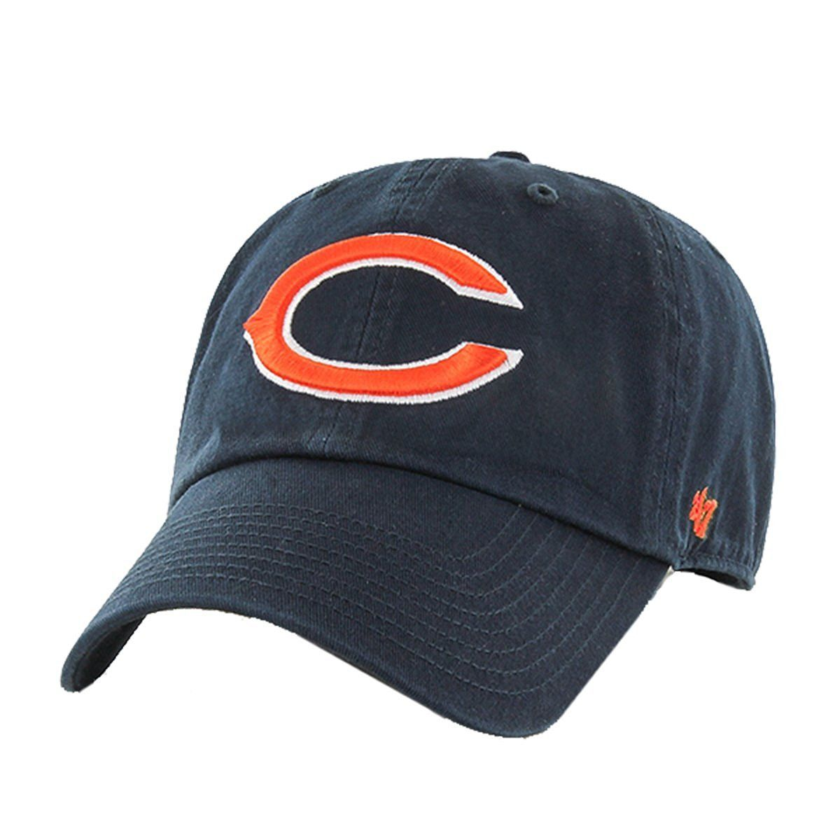 195182264 Chicago Bears NFL  47 Clean Up Adjustable Hat
