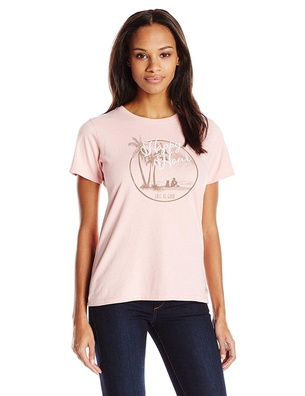 c393a31d2b4 Women s Happy Hour Circle Crusher Tee - Dusty Pink - CI1266VWZ97 in ...