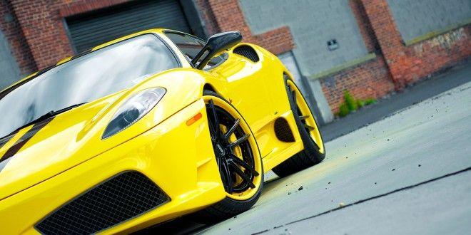 Ferrari F430 Scuderia Yellow Wallpapers Wallpapers Sea Pinterest