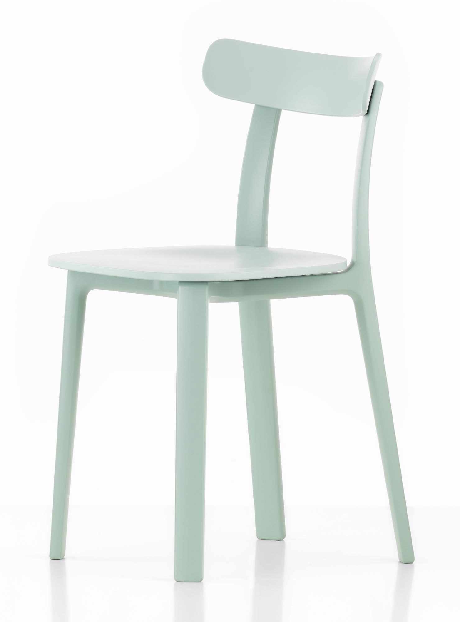 Esszimmerstühle Pastell All Plastic Chair Outdoor Stuhl Vitra Designed By Jasper