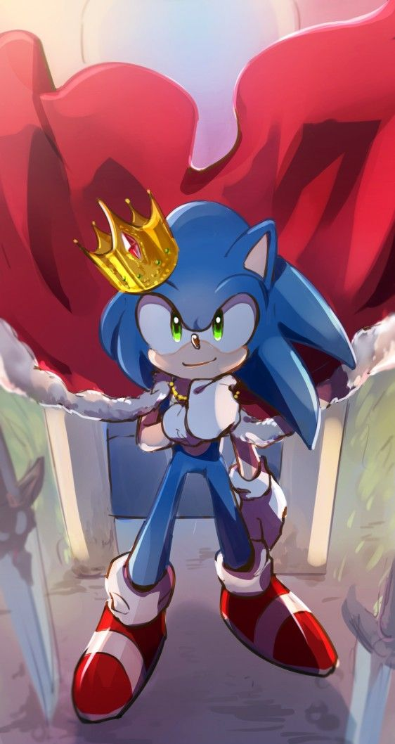 hail the king sonic