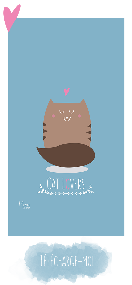Fond D Ecran Cat Lovers Minou Le Chat Minou Fond Ecran Chat