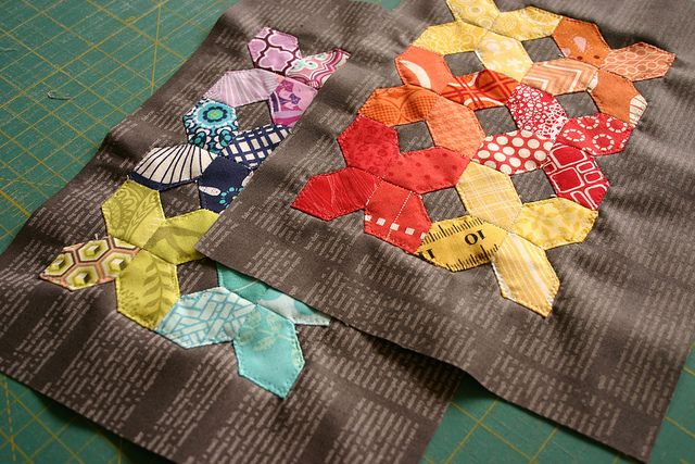 EPP Honeycomb pouch by Dont Call Me Betsy, via Flickr
