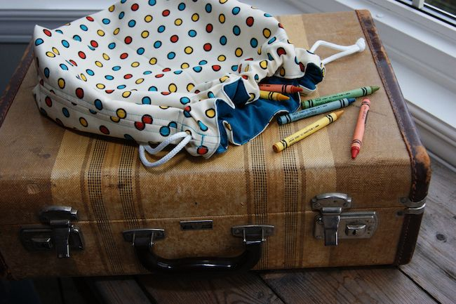 My Stow-n-Tow cloth bags for kids
