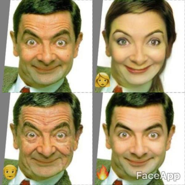 Mr Bean Faceapp Funny People Know Your Meme You Meme