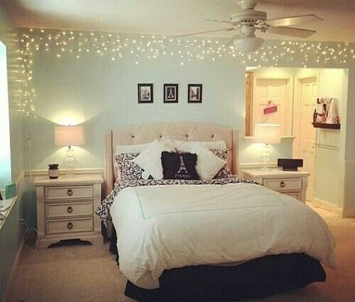 15 Ways To Decorate Your Dorm Room If You Are Obsessed With Fairy Lights Part 68