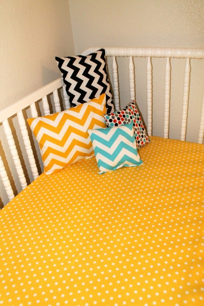 Liam S Colorful Chevron Nursery Yellow Nursery Nursery