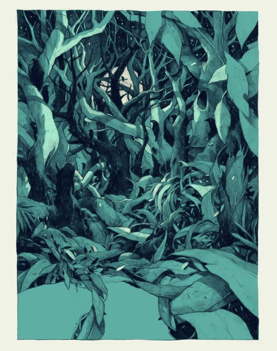 Delving Inside The Human Mind: A Illustration Series by Simon Prades