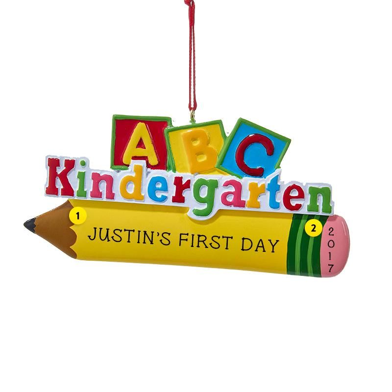 Kindergarten Ornament (With images) | Personalized ...