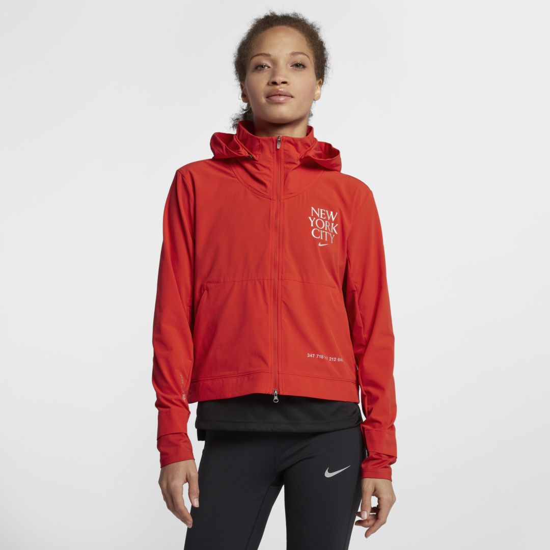 f24003bf0a3e86 Nike Swift Women's Running Jacket Size XL (Habanero Red) | Products ...