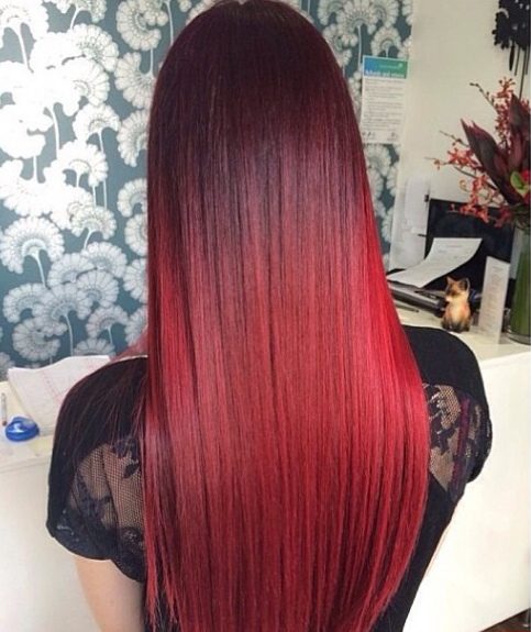 Maybe My Hair One Day Redhead In Winter Red Hair Tumblr Red Hair Don T Care Long Hair Styles