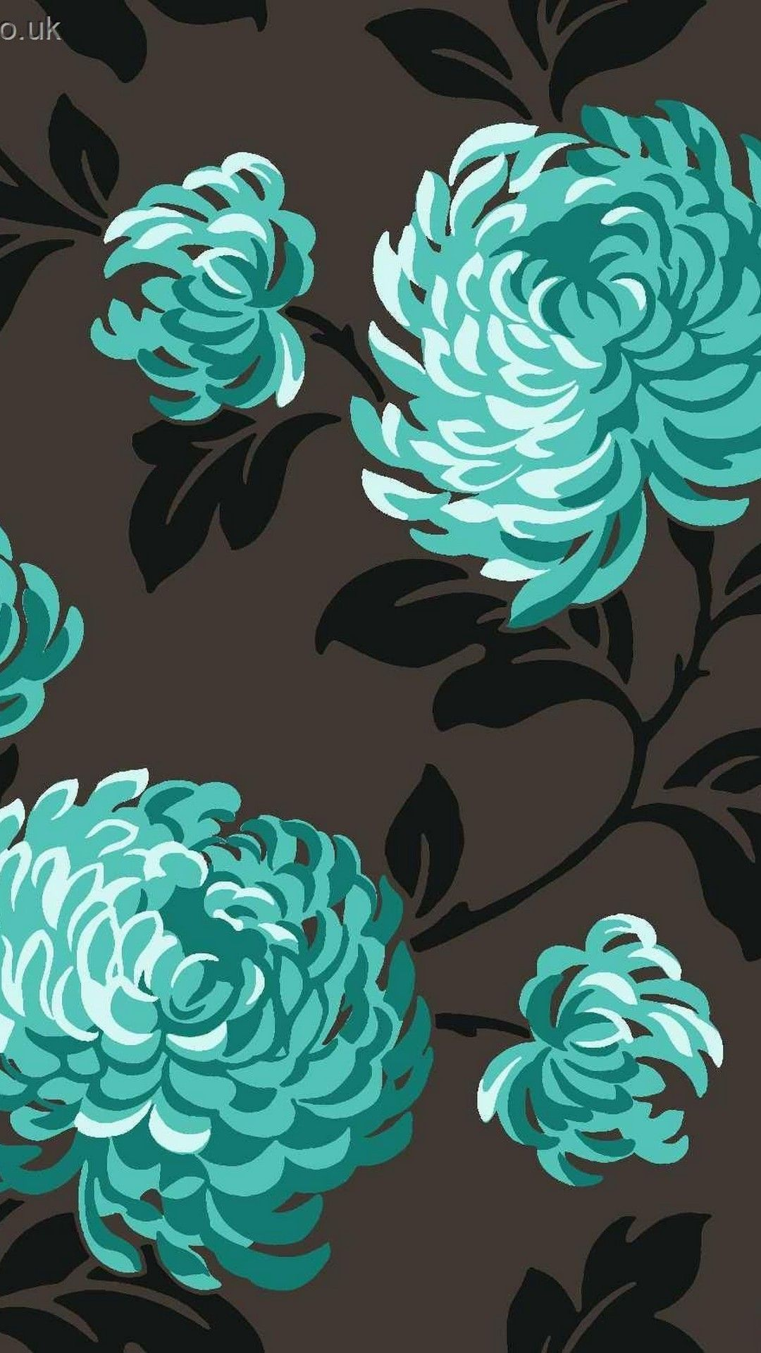 Pretty Teal And Black Iphone Background Black Iphone Background November Wallpaper Iphone Background