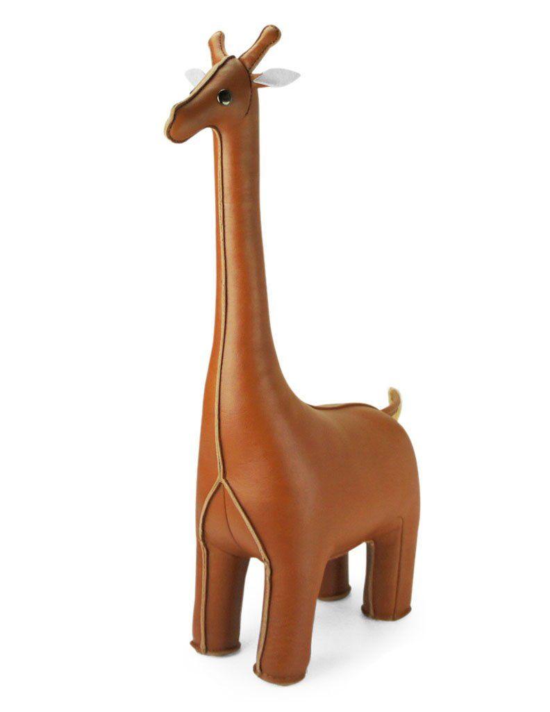 Zuny Classic Series Giraffe Tan Animal Bookend | For the