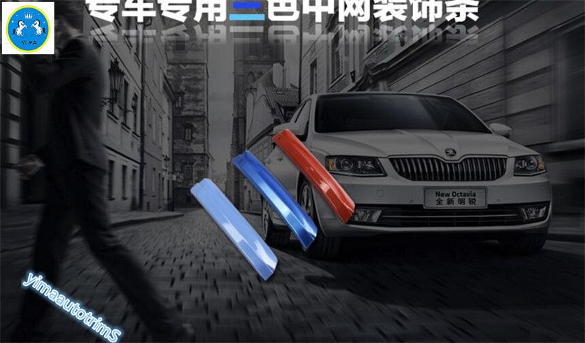Colorfully! For Skoda Octavia MK3 A7 2015 2016 ABS Front