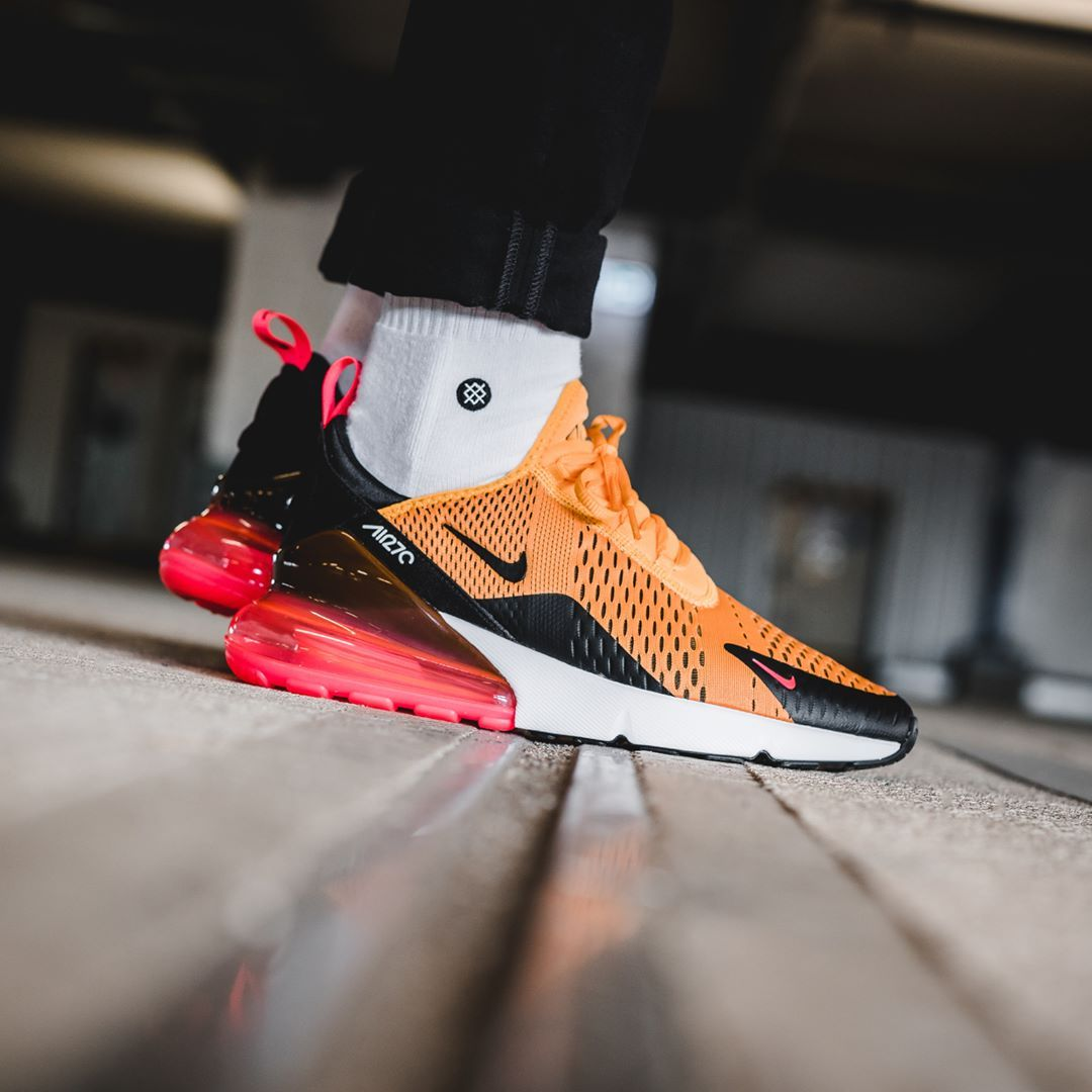 best service 3e41c dd95a ... wholesale release date march 16 2018 nike air max 270 black university  gold credit b7afa aed27