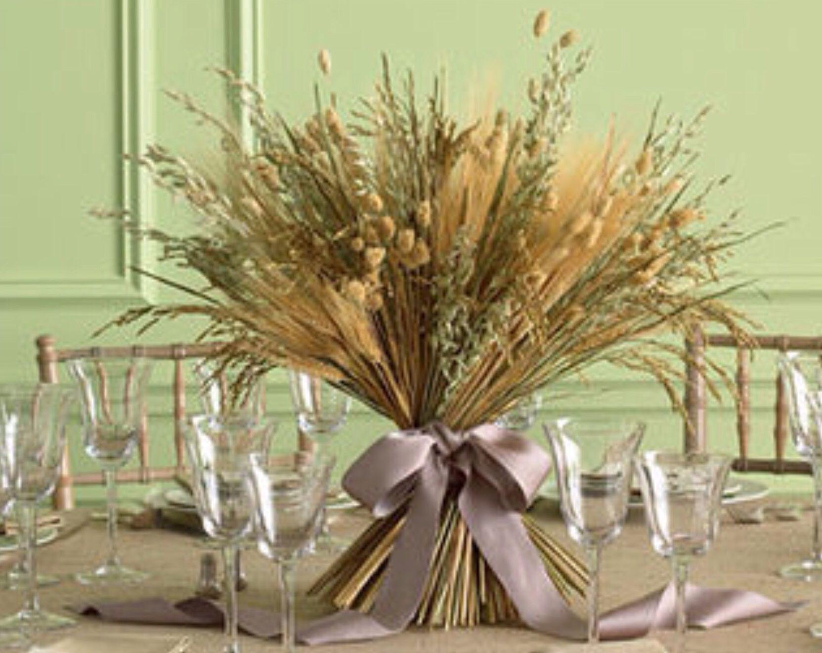 Enfeite De Trigo ~ Enfeite de mesa rústico Casamento Rústico Pinterest