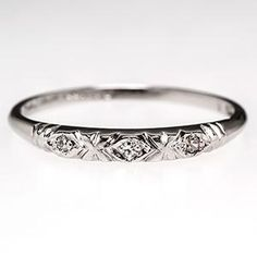 Edwardian Marcasite Wedding Bands Google Search
