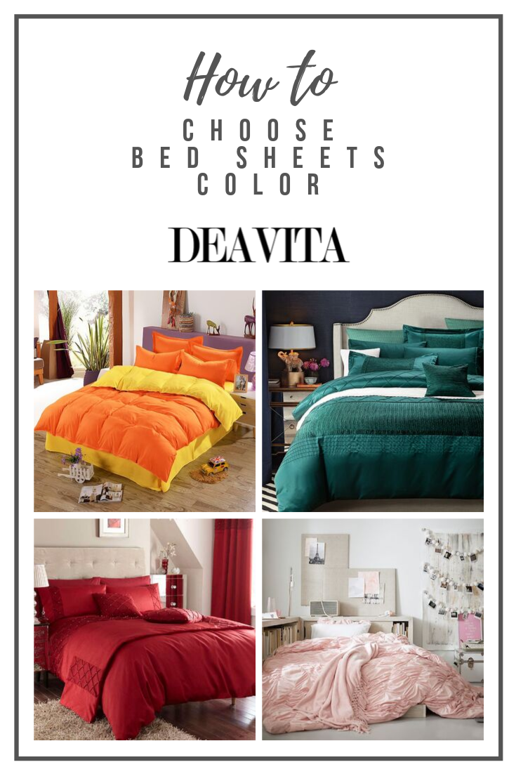 How To Choose Bed Sheets Color For Your Bedroom Bed Sheets Bed Sheets