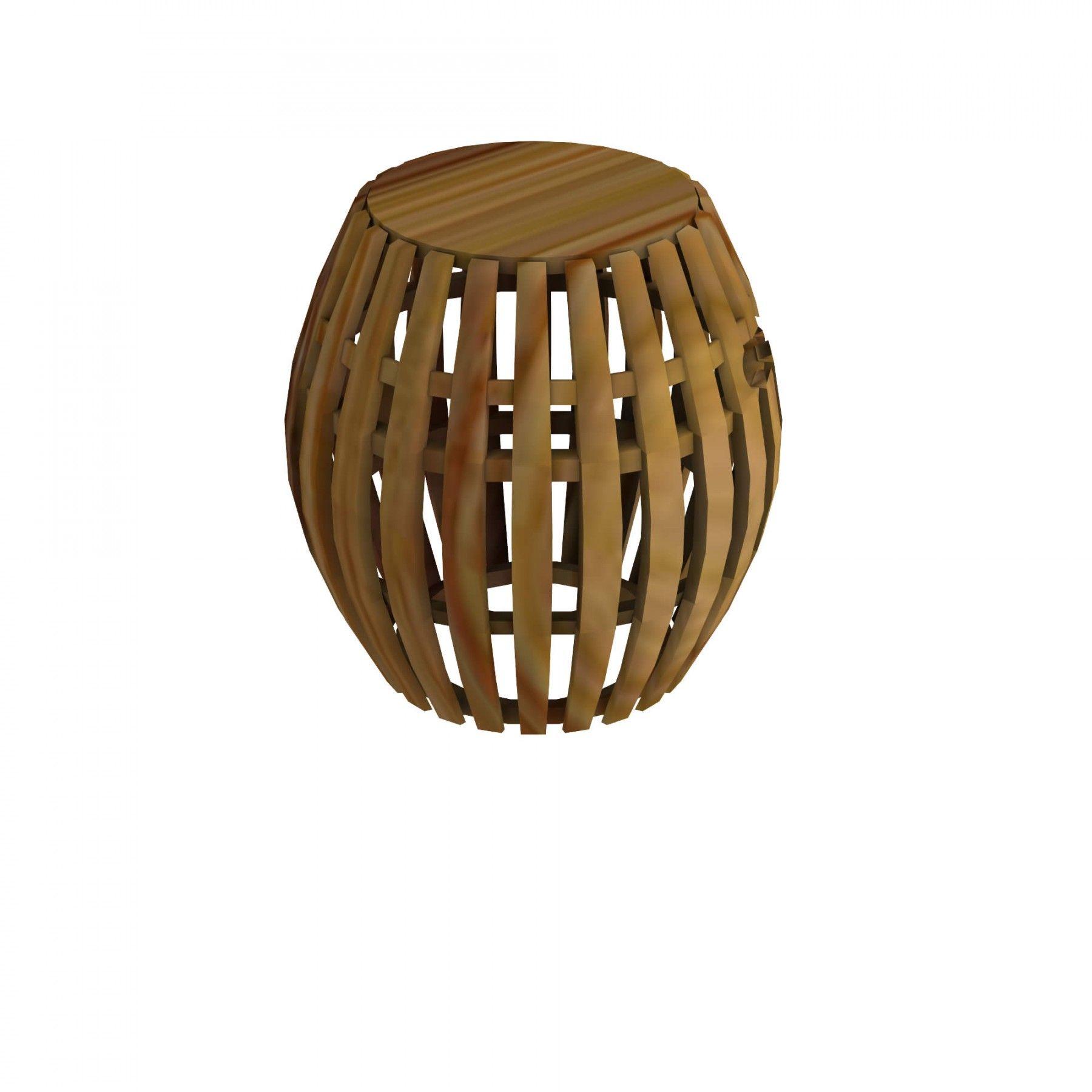 Garden stool Swing in Teak - Unopiù | Upper pool terrace & lawn area ...