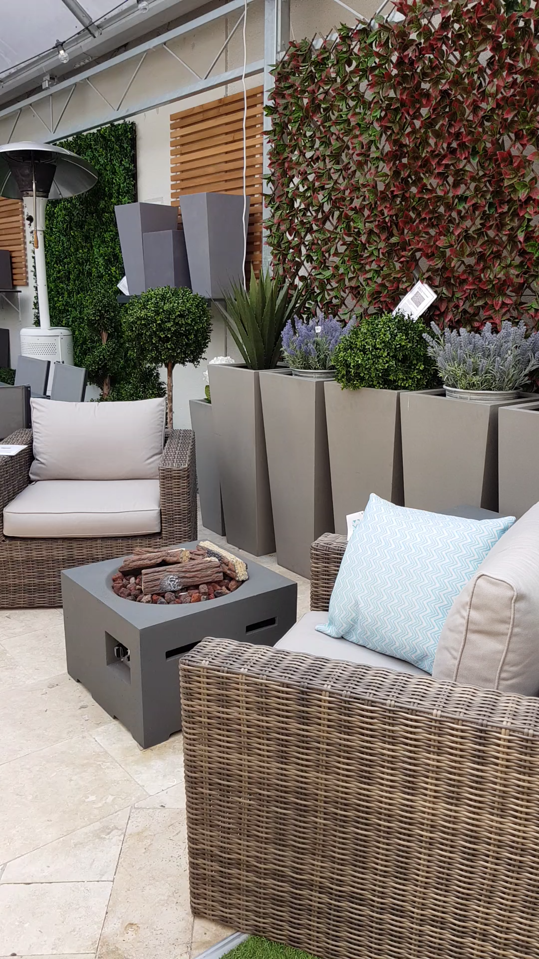 A Glimpse Of Our Showroom Visit Our Showroom In Dublin Or Browse Online To See More Garden In 2020 Outdoor Garden Furniture Diy Garden Furniture Garden Furniture