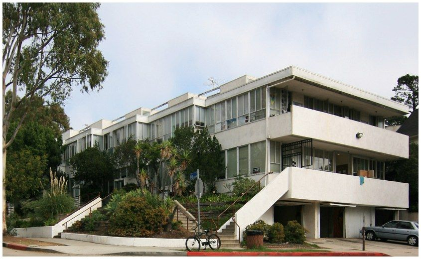 Landfair Apartments 1937 By Architect Richard Neutra 10940 Ophir