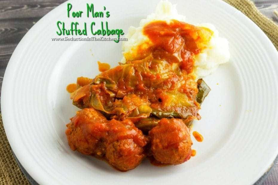 Poor Man's Stuffed Cabbage from Seduction in the Kitchen