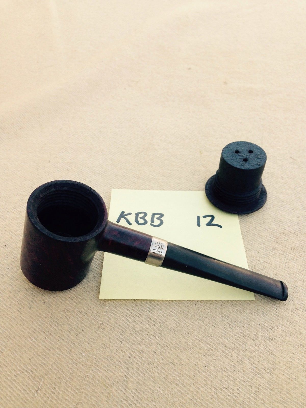 DAWES PIPE***, KBB Capitol Pipe, RARE, Removable Chamber, Estate ...