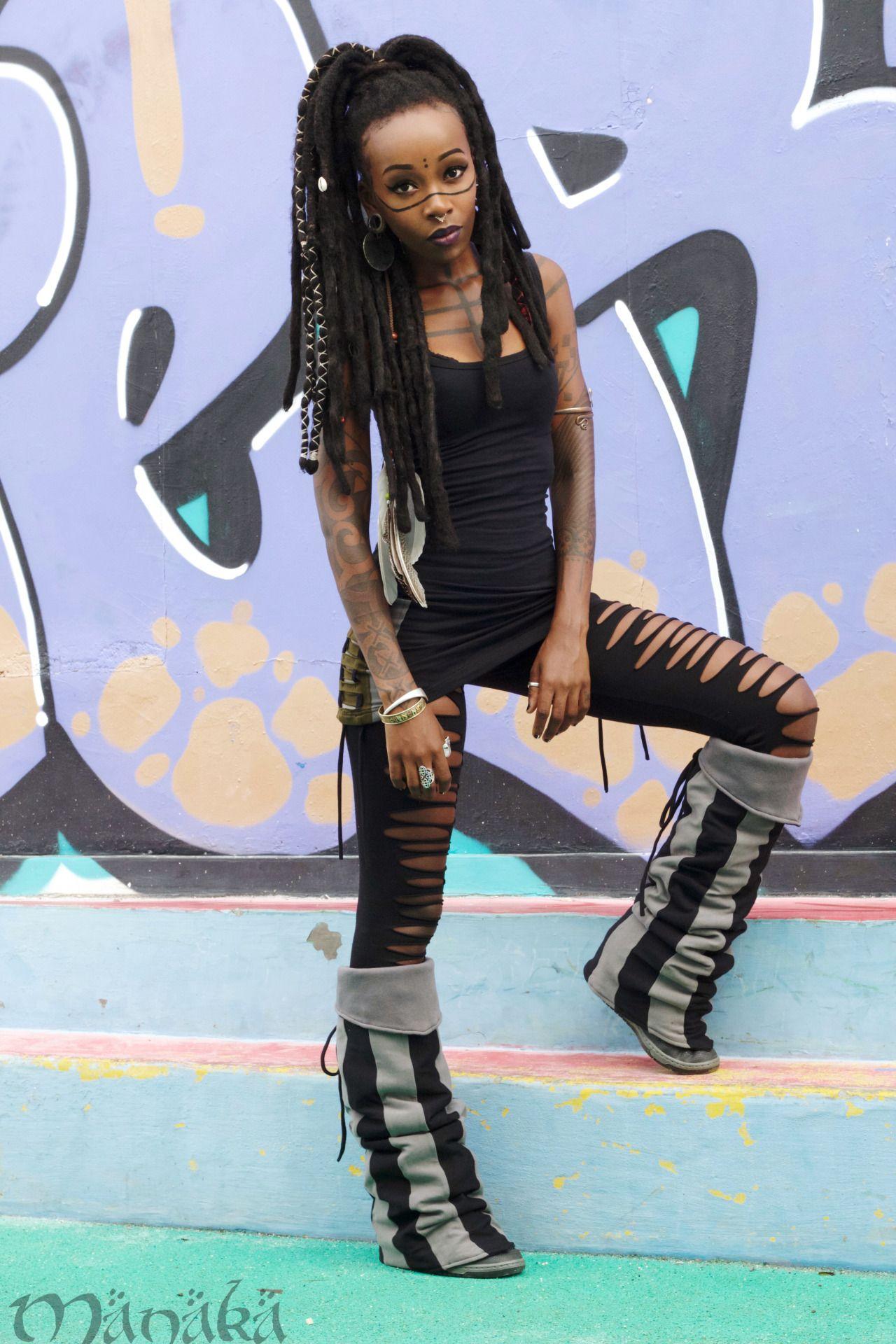 MANAKA Fashion Pinterest Black girls Tribal hair and Punk