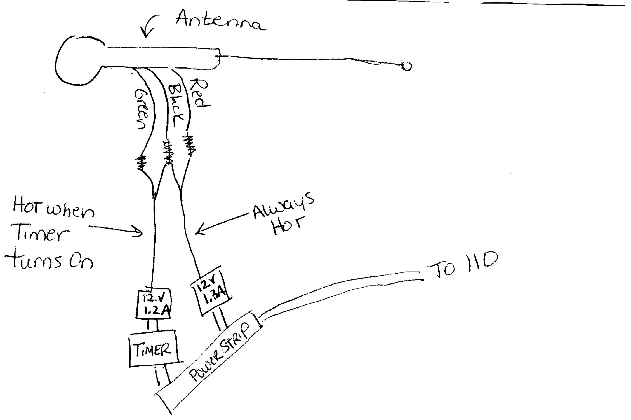 Toyota Aftermarket Power Antenna Wiring Diagram Trusted Electric Tv Installation Auto