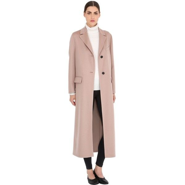 Valentino Women Light Wool & Cashmere Long Coat (£2,605) ❤ liked ...