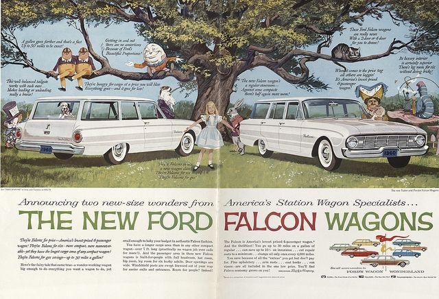 Ford Falcon Wagons 1960 Ford Falcon Station Wagon Ford America