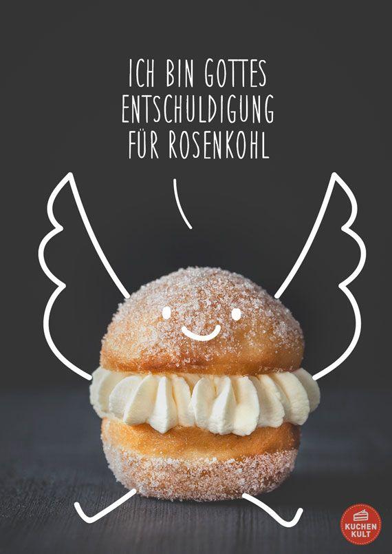 Die Schonsten Spruche Rund Um Den Kuchen Kuchenspruche Pinterest