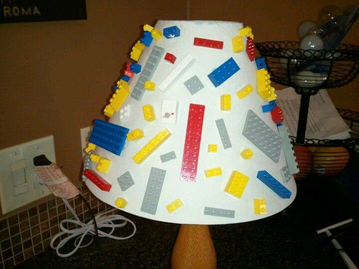 Lego lamp shade home decor that i love pinterest lego lamp lego lamp shade aloadofball Choice Image