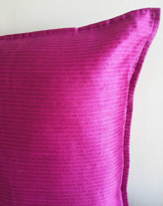 TEXTURE CHENILLE CUSHION COVER IN HOT PINK  Size-50X50cms