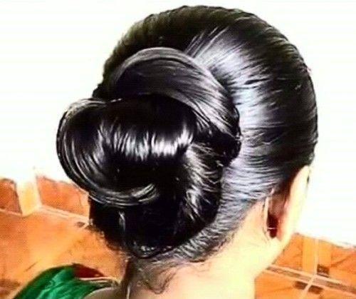 Oily Hair Day Bun Updo Oiled Hair Oily Hair Hair Styles