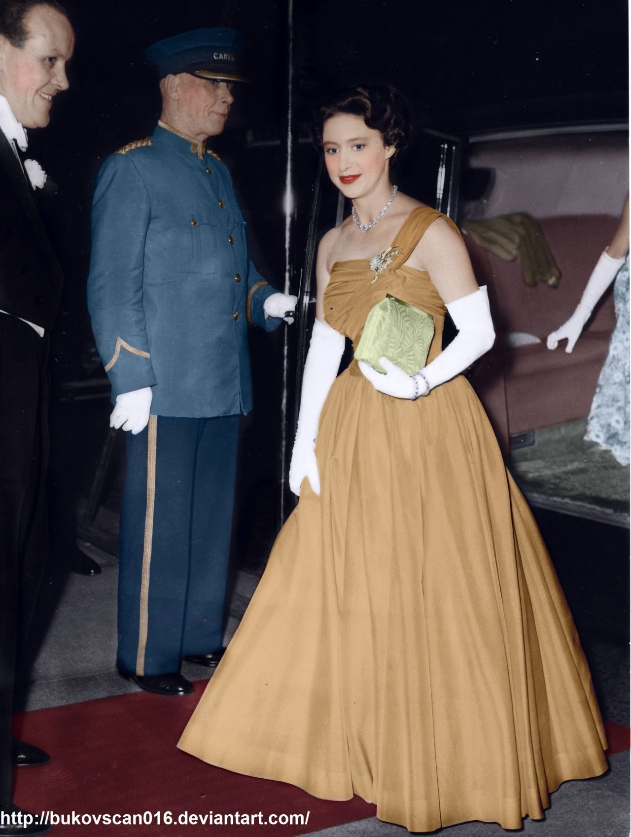 Princess Margaret Young And In Color Princess Margaret Young