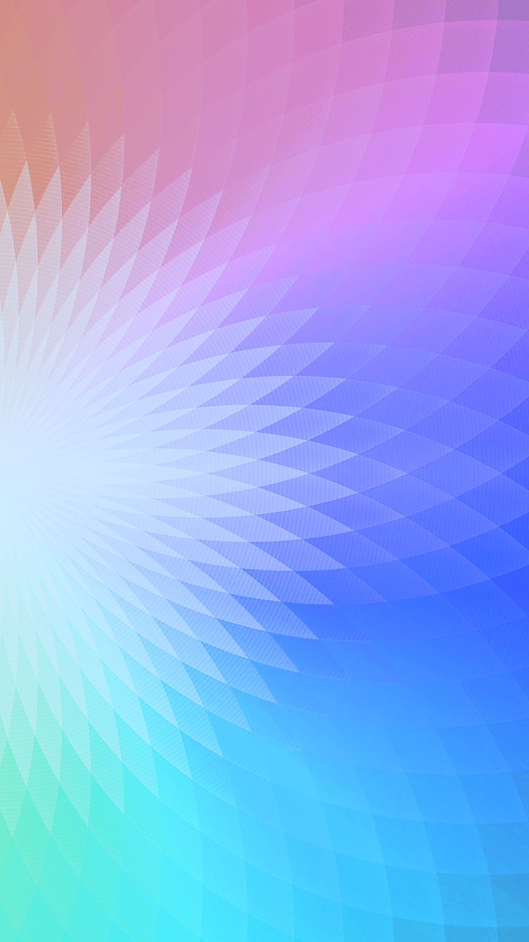 rainbow pastel gradient geometric iPhone 6 wallpaper