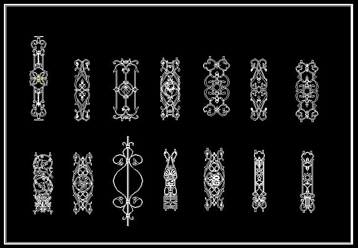 Architectural Cad Elements Architecture details CAD Library