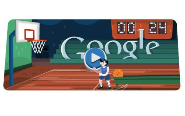 Google Doodle Olympics Basketball Doodles Games Basketball March Madness Bracket