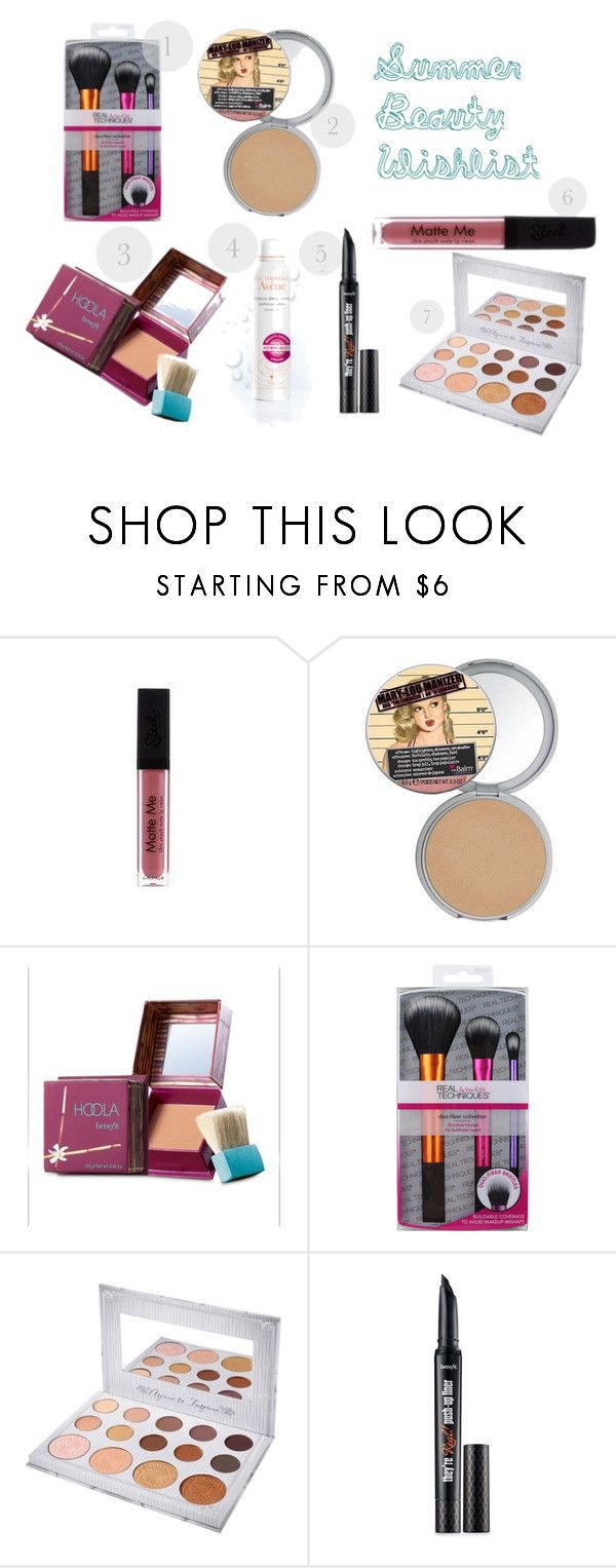 Summer beaut wishlist by nothinggonnachangemylove on Polyvore featuring beauty, Benefit, TheBalm and Avène