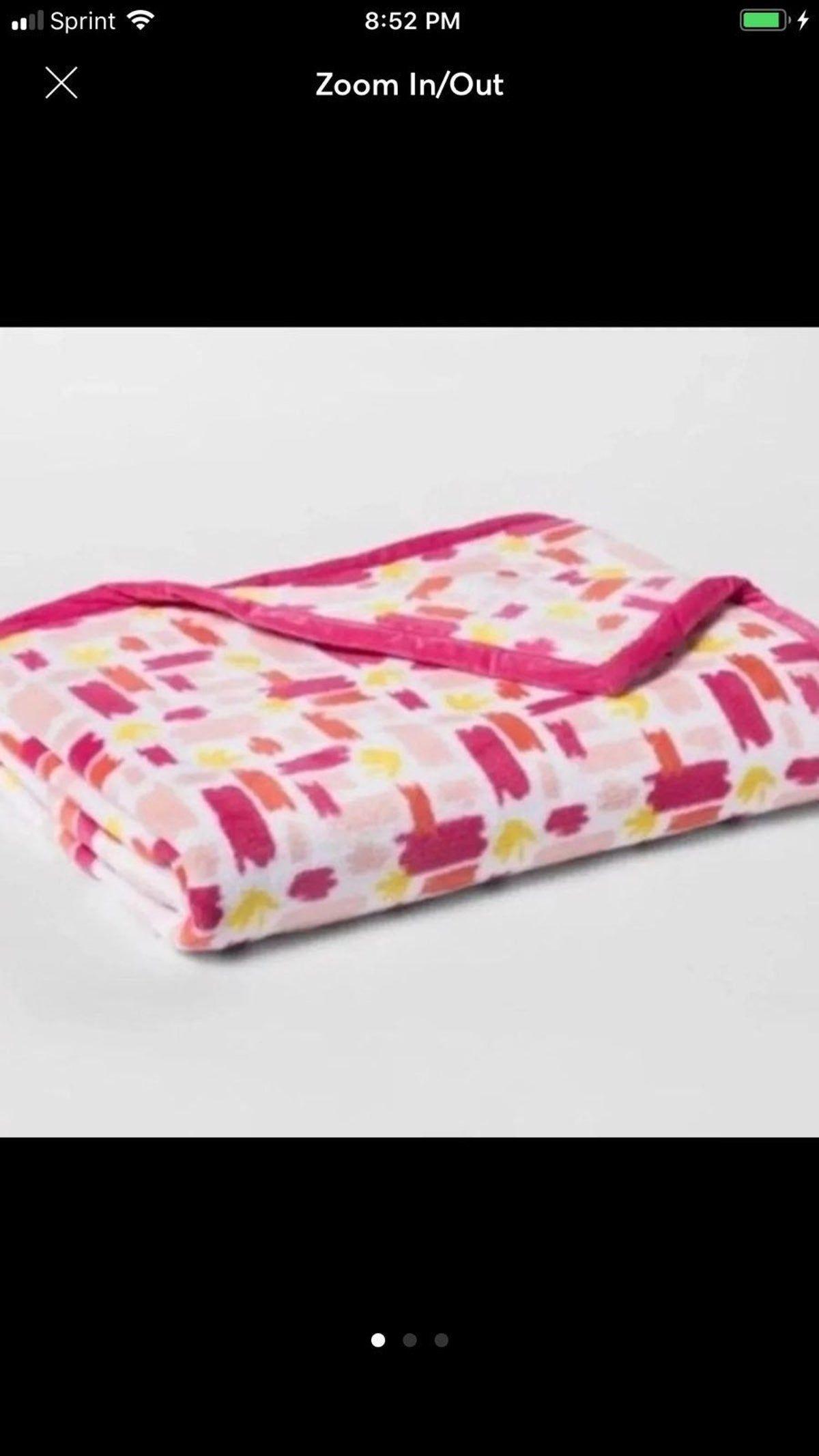 Target Pillowfort Girls Throw Blanket Ne
