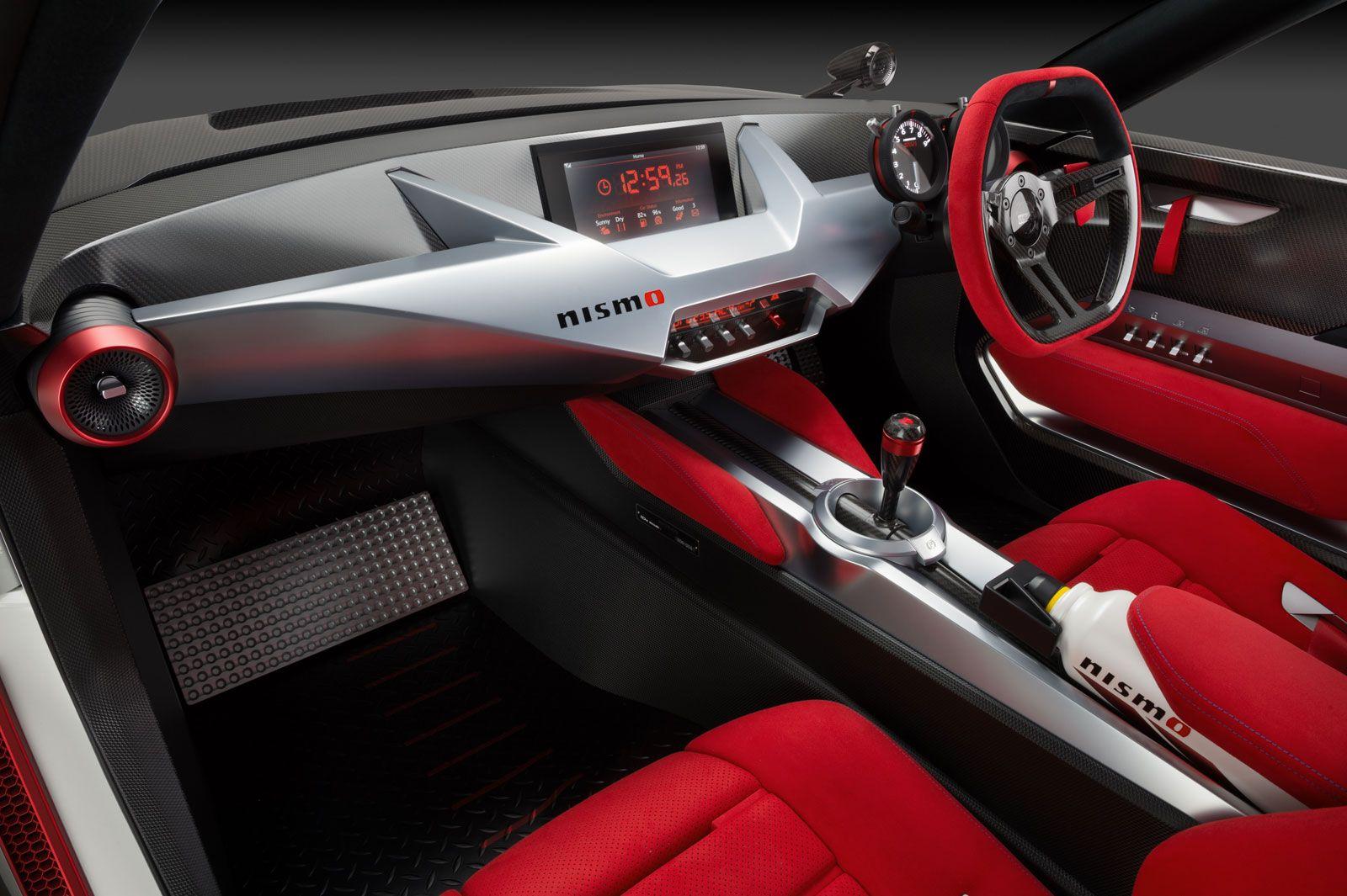 Nissan Idx Nismo Concept Interior With Images Car Interior