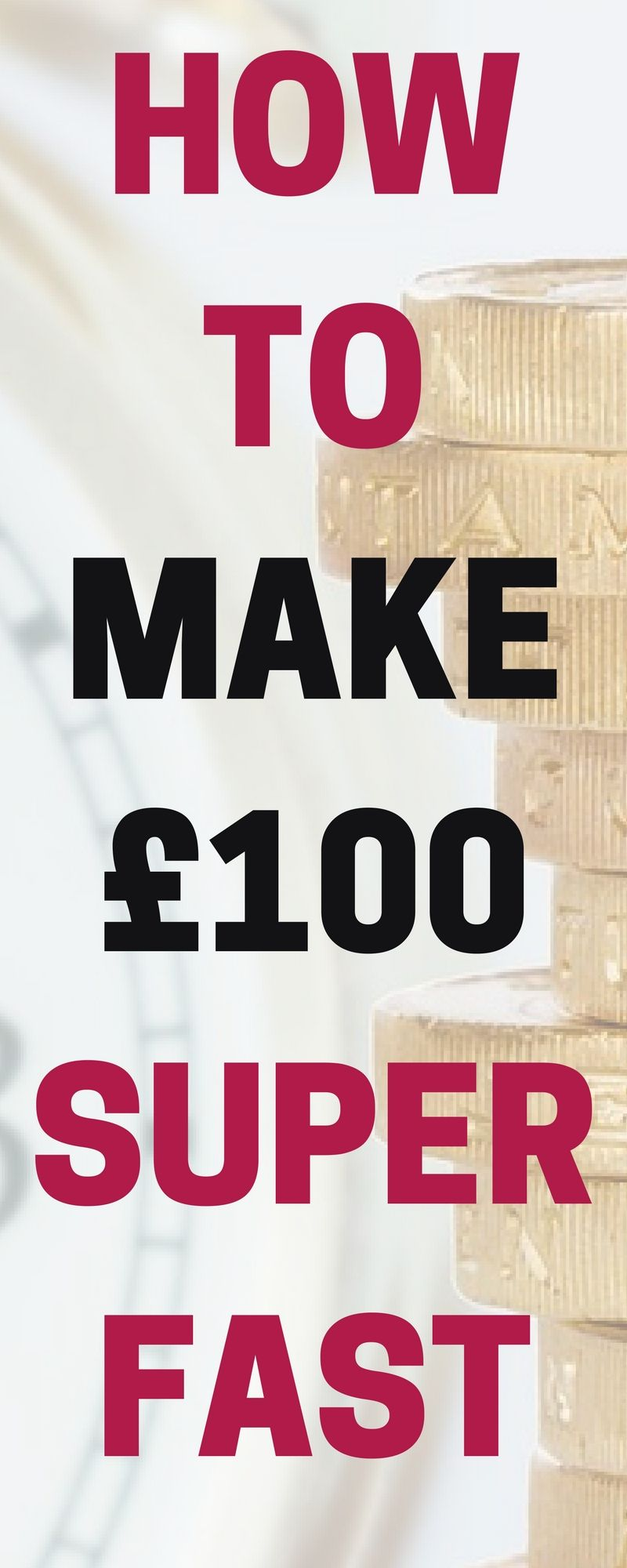 Make an Extra £100 This Week | Money fast, Fast cash and Extra money