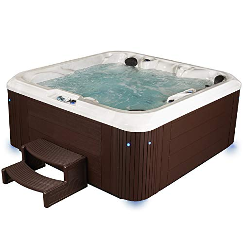 Atlas Espresso 92 Jets Hot Tub Hot Tub Hot Tub Outdoor Tub