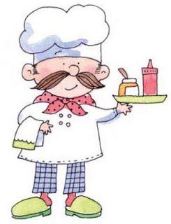 Dibujos De Cocina Para Imprimir   Cocineros En Dibujos Para Imprimir Cocina Pinterest